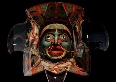 Indianische Maske